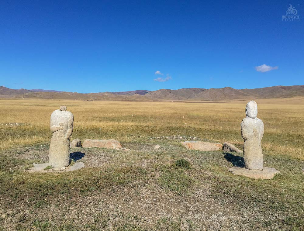Turk Ancient Stone Sculptures, Central Mongolia
