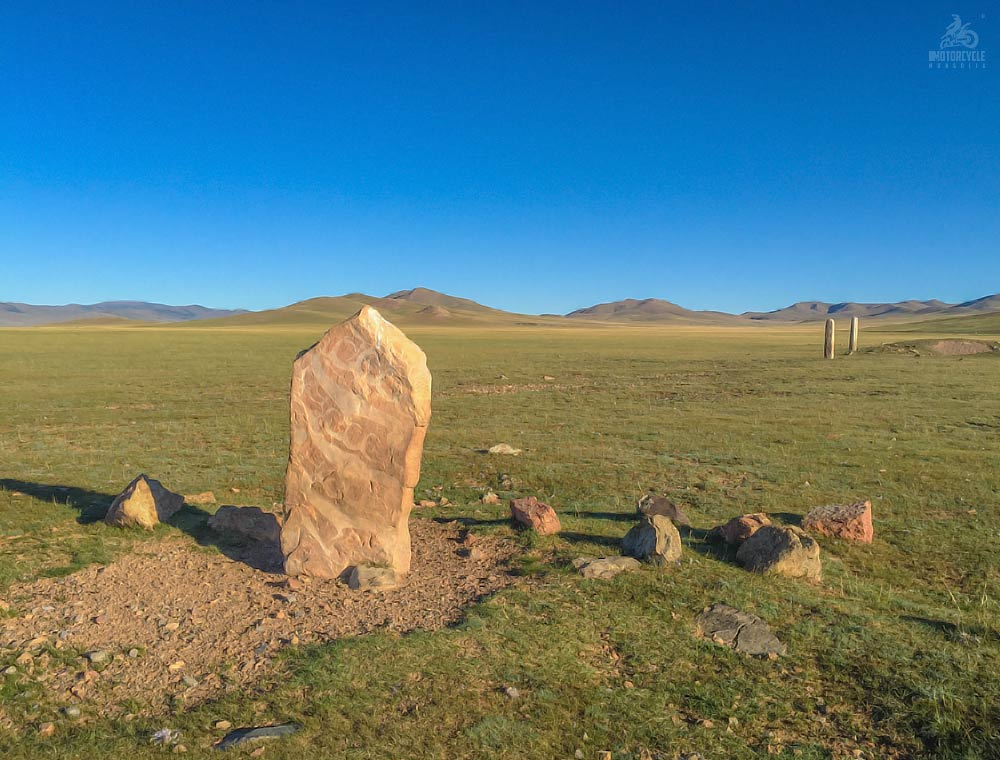 Ancient Deer Stone Monument, Arkhangai Mongolia