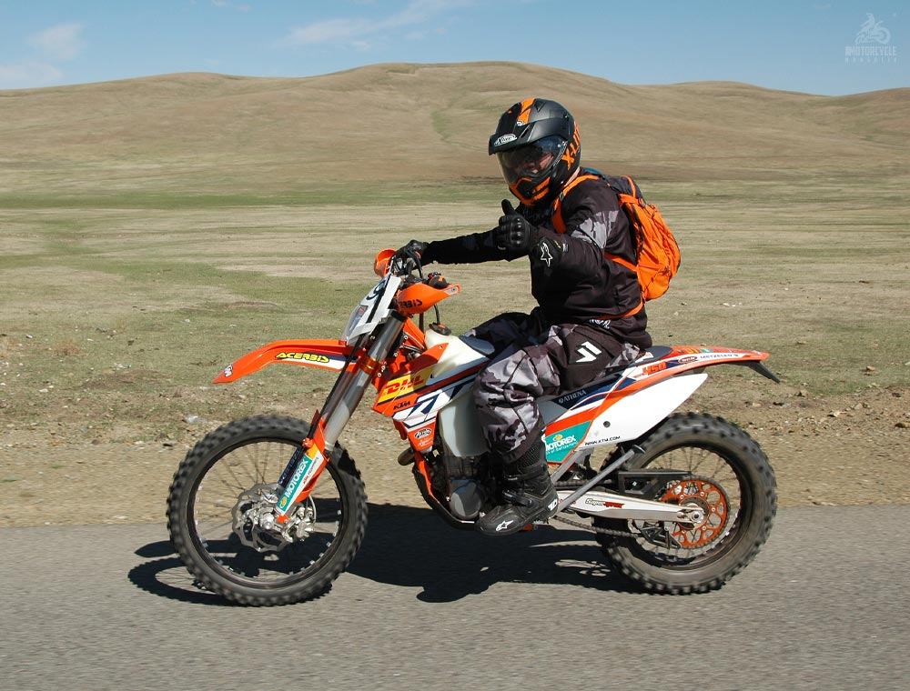 Enduro Motocycle Trips in Mongolia